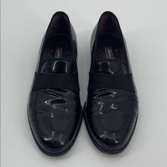 🤩 Salvatore Ferragamo Patent Leather Loafers 10 D